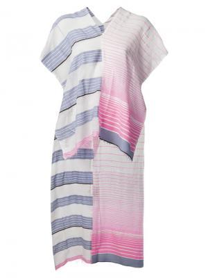 Полупрозрачный шарф с принтом Lemlem. Цвет: многоцветный