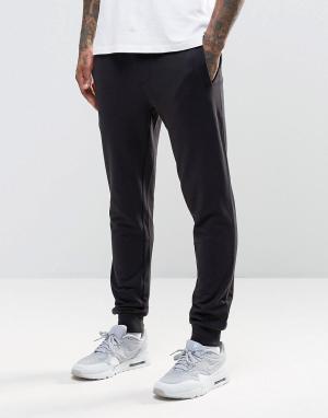 Troy Трикотажные штаны зауженного кроя. Цвет: черный