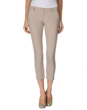 Повседневные брюки LA KORE. Цвет: бежевый