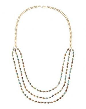 Ожерелье CHAN LUU. Цвет: коричневый