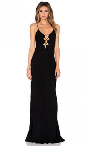 Платье brawa Acacia Swimwear. Цвет: черный
