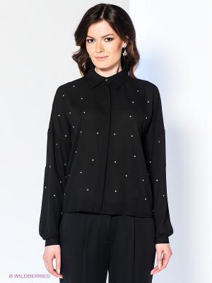 Блузка Acasta. Цвет: черный