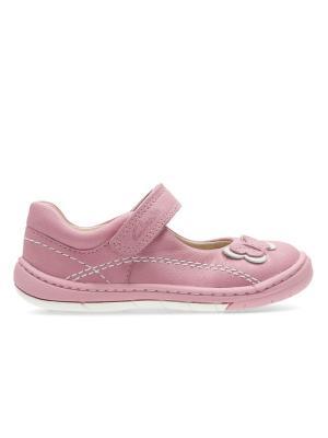 Туфли Clarks. Цвет: розовый