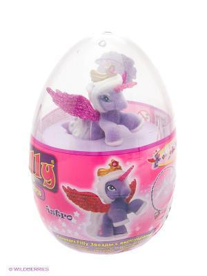 Игровой набор лошадки Филли/Filly Звезды в яйце Astro Dracco. Цвет: розовый