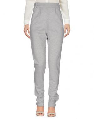 Повседневные брюки JACQUELINE de YONG. Цвет: светло-серый