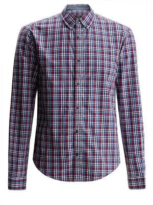 Рубашка Oodji. Цвет: красный