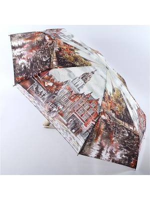 Зонт Zest. Цвет: антрацитовый, бежевый, коричневый