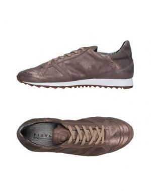 Низкие кеды и кроссовки PLAYHAT. Цвет: бронзовый