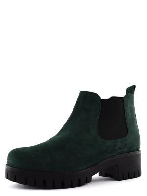 Ботинки BERG. Цвет: зеленый