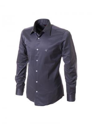 Рубашка BIRIZ. Цвет: темно-серый