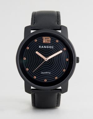 Kangol Черные часы. Цвет: черный