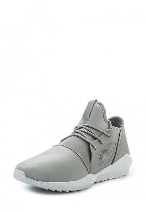 Кроссовки Ideal Shoes. Цвет: серый