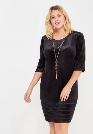 Платье Indiano Natural. Цвет: черный