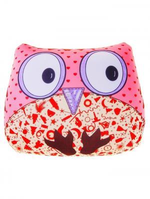 Подушка-игрушка антистресс PROFFI KIDS Сова. Цвет: розовый