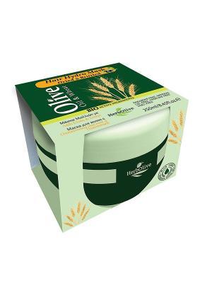 Герболив маска для сухих волос увлажняющая с пшеницей, 250мл Madis S.A.. Цвет: оливковый