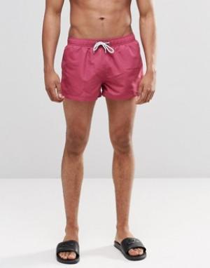 Swells Короткие розовые шорты. Цвет: розовый