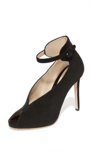Туфли на каблуке Sasha Monique Lhuillier. Цвет: голубой