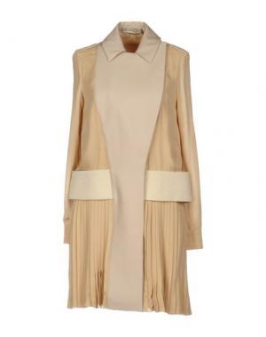 Короткое платье MARY KATRANTZOU. Цвет: пастельно-розовый