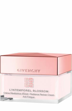 Крем для сохранения молодости и сияния кожи L`Intemporel Blossom Givenchy. Цвет: бесцветный
