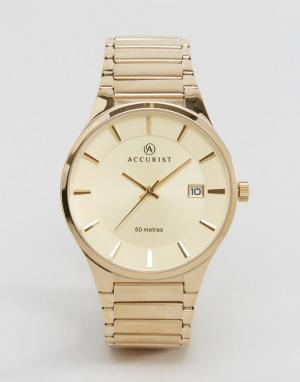 Accurist Золотистые наручные часы. Цвет: золотой