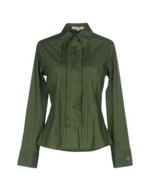 Pубашка KORALLINE. Цвет: зеленый