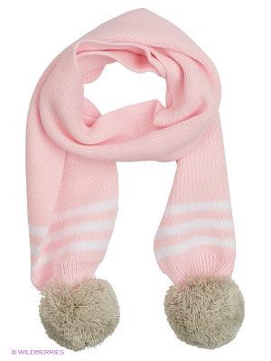 Шарф детский ESLI. Цвет: розовый