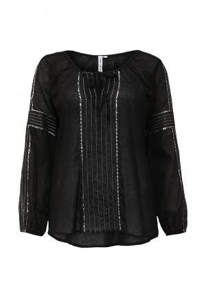 Блуза Care of You. Цвет: черный