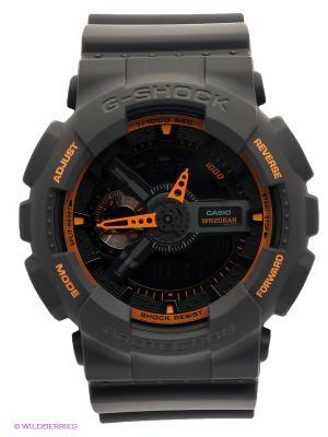 Часы G-SHOCK GA-110TS-1A4 CASIO. Цвет: серый
