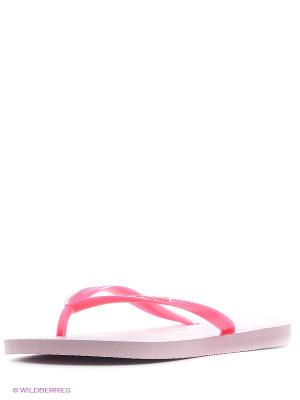 Шлепанцы Havaianas. Цвет: розовый, бледно-розовый