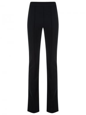 Расклешенные брюки Gloria Coelho. Цвет: чёрный