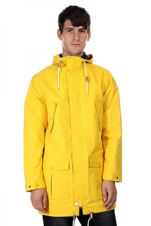 Куртка парка  Bohus Burst CLWR. Цвет: желтый