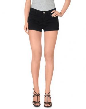 Повседневные шорты FILIPPA K. Цвет: черный