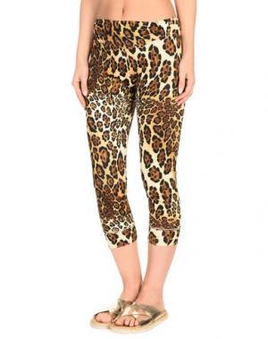 Пляжные брюки и шорты VDP BEACH. Цвет: бежевый