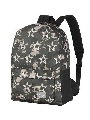Рюкзак NOSIMOE. Цвет: черный, бежевый, серый