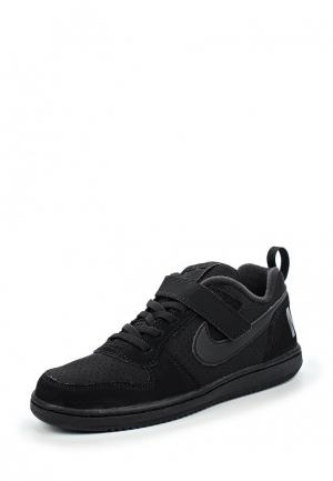Кеды Nike. Цвет: черный