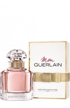 Парфюмерная вода Mon Guerlain. Цвет: бесцветный