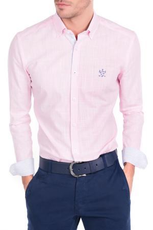 Рубашка Sir Raymond Tailor. Цвет: розовый