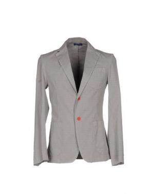 Пиджак DIMATTIA. Цвет: серый