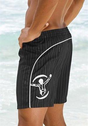 Пляжные шорты Otto. Цвет: черный