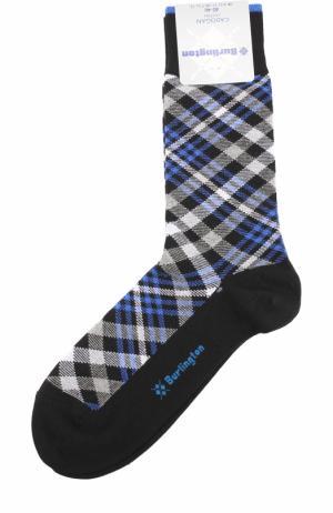 Хлопковые носки Cadogan Burlington. Цвет: черный