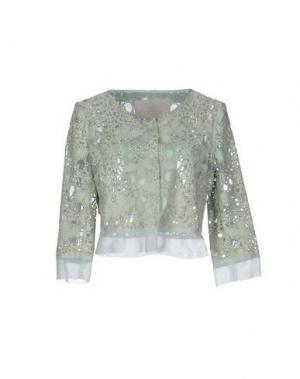 Пиджак ROBERTA SCARPA. Цвет: светло-зеленый