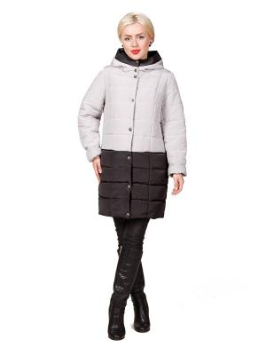 Пальто ROSSO-STYLE. Цвет: серый