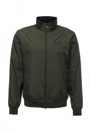 Куртка утепленная EA7. Цвет: зеленый