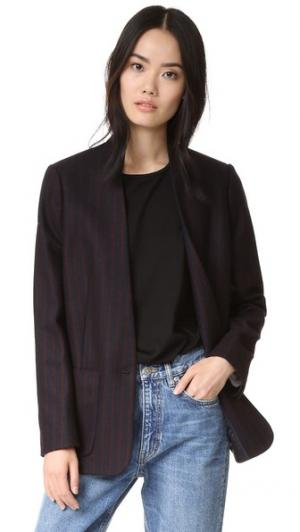 Блейзер Jackson M.i.h Jeans. Цвет: темно-синий/бордовый