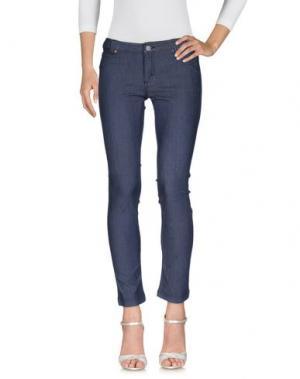 Джинсовые брюки NORTH SAILS. Цвет: синий