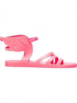 Сандалии Ikaria Jelly Ancient Greek Sandals. Цвет: розовый и фиолетовый