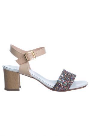 High heels sandals NILA. Цвет: multicolor