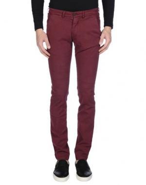 Повседневные брюки 40WEFT. Цвет: пурпурный