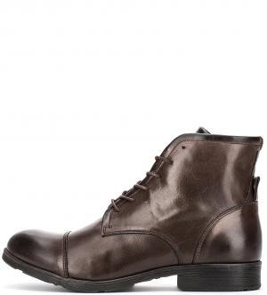 Ботинки NOBRAND. Цвет: коричневый