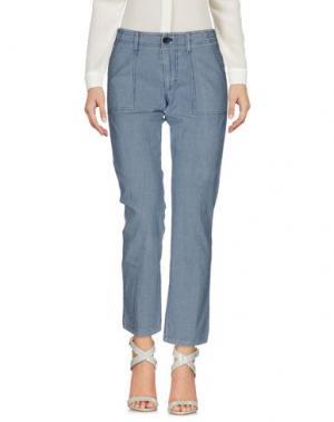 Повседневные брюки LOCAL APPAREL. Цвет: синий
